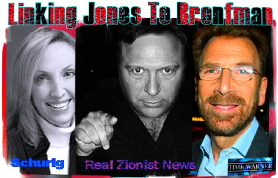 Is Alex Jones Linked To Zionist-Jew Bronfman? | Real Jew News