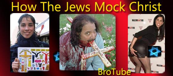 How The Jews Mock Jesus Christ | Real Jew News