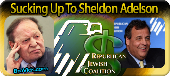 Sucking Up To Sheldon Adelson  Real Jew News