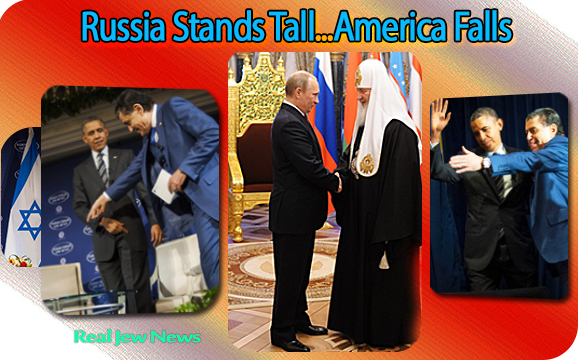 Russia Turns Christian…America Turns Jewish | Real Jew News