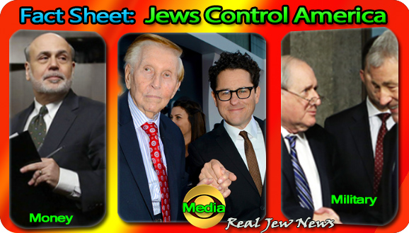 Jew domination of all media