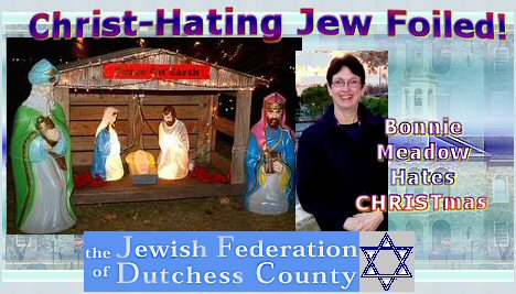 A CHRISTmas Hating Jew Is Foiled! | Real Jew News