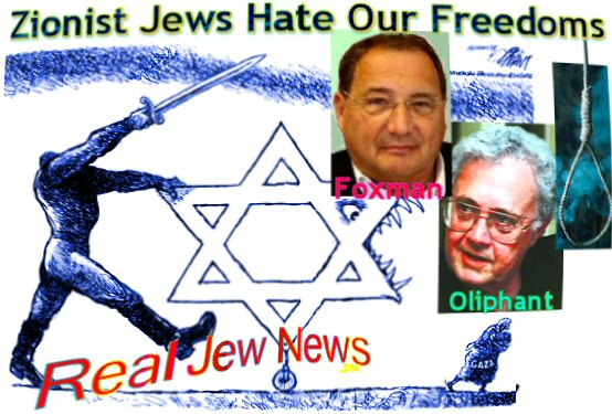 Jews Out To Hang Oliphant For Cartoon | Real Jew News