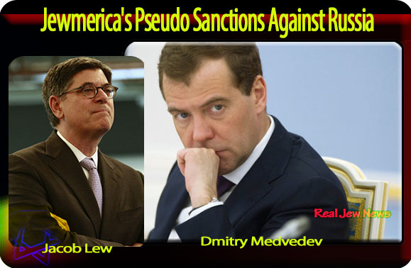 Jewmerica's Pseudo Sanctions Against Russia | Real Jew News