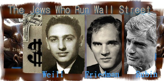the jews who run wall street real jew news