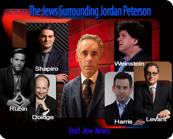 The Jews Surrounding Jordan Peterson