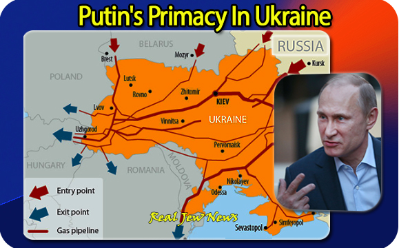 Putin's Primacy In Ukraine | Real Jew News