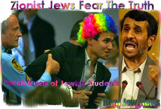 A Closer Look At Ahmadinejad's UN Speech | Real Jew News